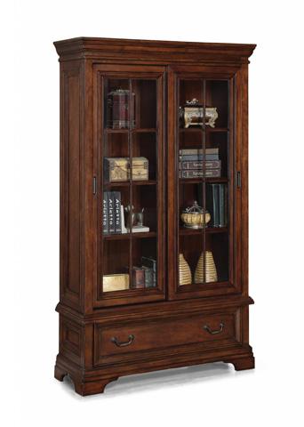 Flexsteel - Woodlands Sliding Door Bookcase - W1207-709
