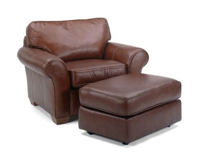 Flexsteel - Vail Chair and Ottoman - 3305-08/3305-10