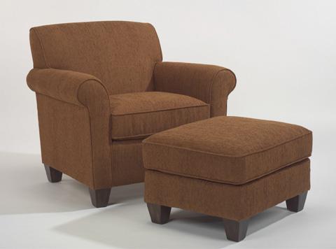 Flexsteel - Fabric Ottoman - 5990-08