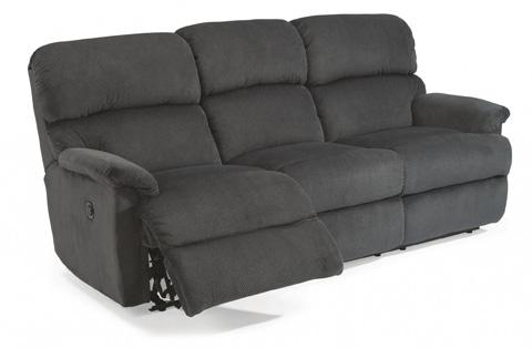 Flexsteel - Fabric Power Reclining Sofa - 7066-62M