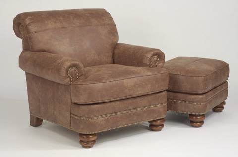 Flexsteel - NuvoLeather Chair - N7791-10
