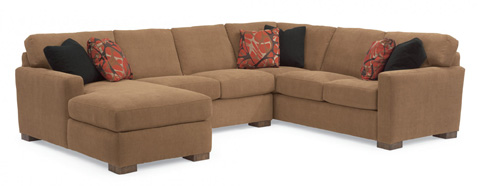 Flexsteel - Fabric Sectional - 7399-SECT