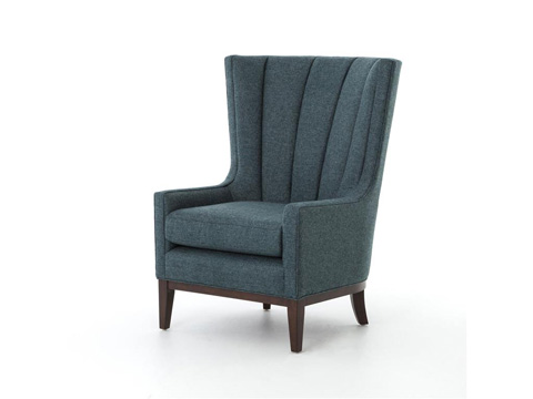Four Hands - Channelled Wing Chair - CKEN-B8Y-402
