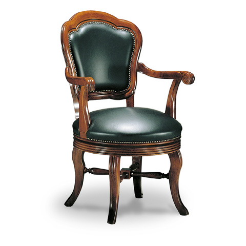 Francesco Molon - Leather Dining Arm Chair - P75