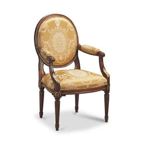 Francesco Molon - Luis XVI Accent Arm Chair - P78