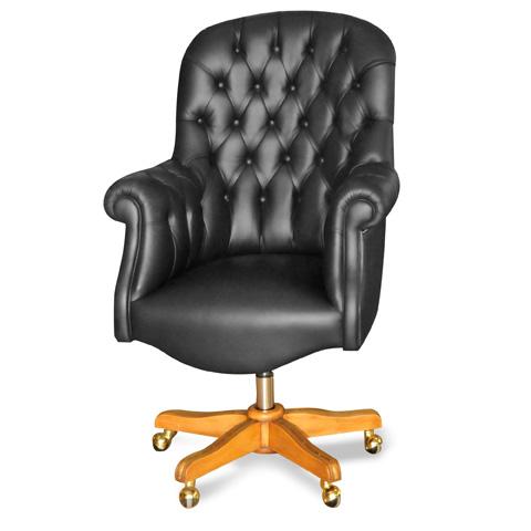 Francesco Molon - Padded Swivel Office Chair - P85