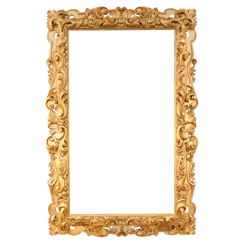 Francesco Molon - Carved Mirror - Q407