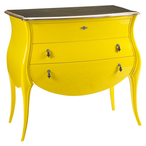 French Heritage - Jacqueline Three Drawer Chest - A-2302-405-JAU