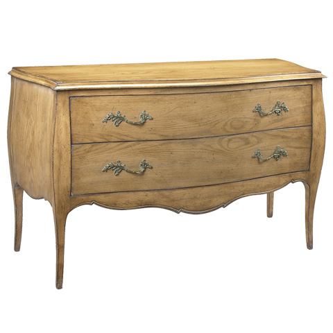 French Heritage - Deneuve Two Drawer Chest - A-2302-407-SBOK