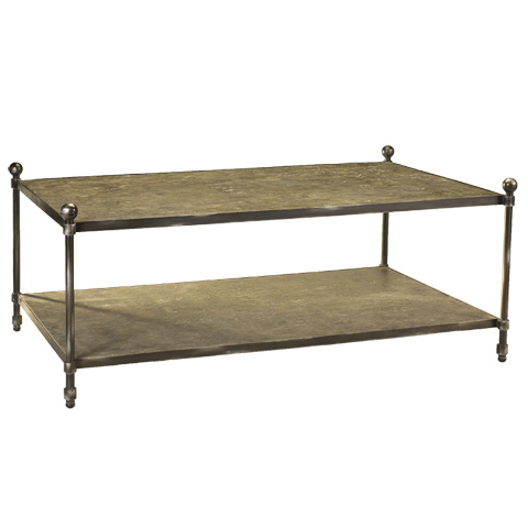 French Heritage - St. Lazare Coffee Table - M-1340-106-GMSL