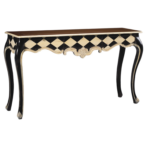 French Heritage - Duval One Drawer Console - M-1544-405-BKIV