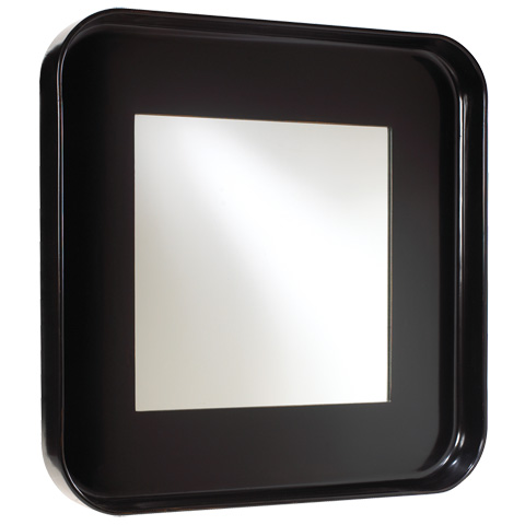 French Heritage - Square Wall Mirror - M-8704-106-BLK