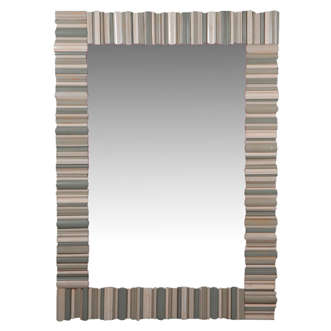 French Heritage - Herelle Textured Rectangular Mirror - M-8704-221-IBGB