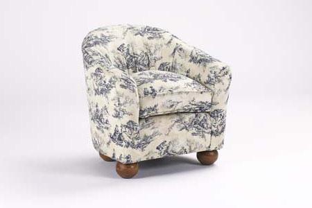 French Heritage - Bebe Tub Chair - U-3064-0221