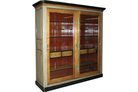 French Heritage - Elliant Bookcase - A-2349-405-ACHG