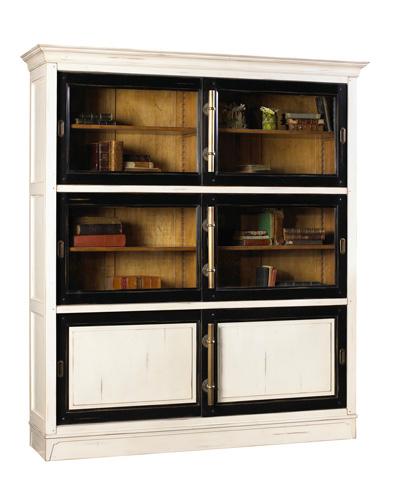 French Heritage - Calminius Bookcase - A-2349-406-BKWT