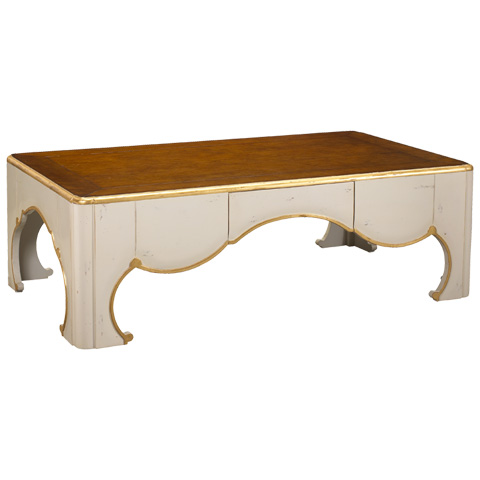 French Heritage - Tarascon Flower Coffee Table - M-1540-408-LCIV