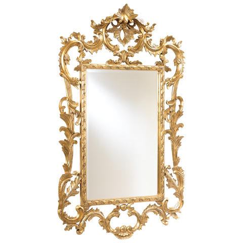French Heritage - Louis XV Gold Mirror - M-8704-212-GLD