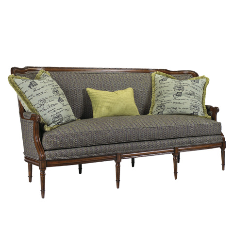 French Heritage - Auteuil Sofa - U-3070-0482