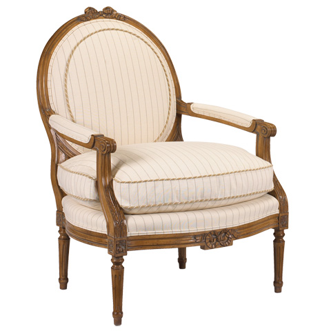 French Heritage - Talbot Chair - U-3076-0828