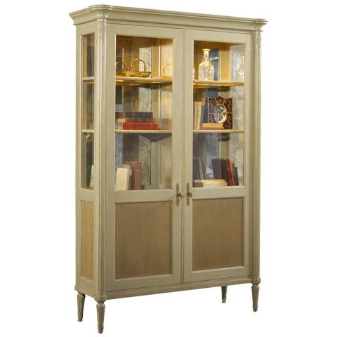 French Heritage - Savoy Display Cabinet - M-1522-1004-OAK