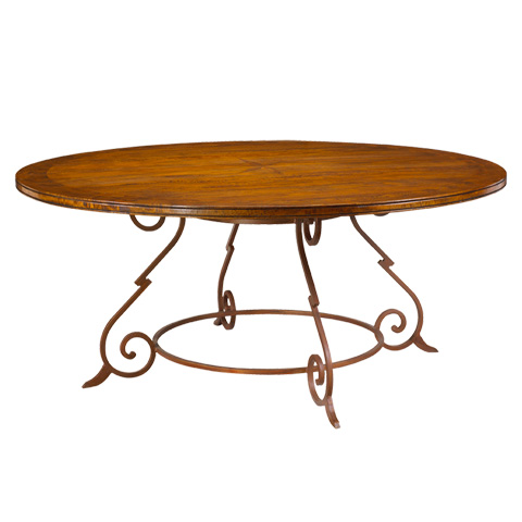 French Heritage - Baluster Round Dining Table - M-2520-1208-CBRL
