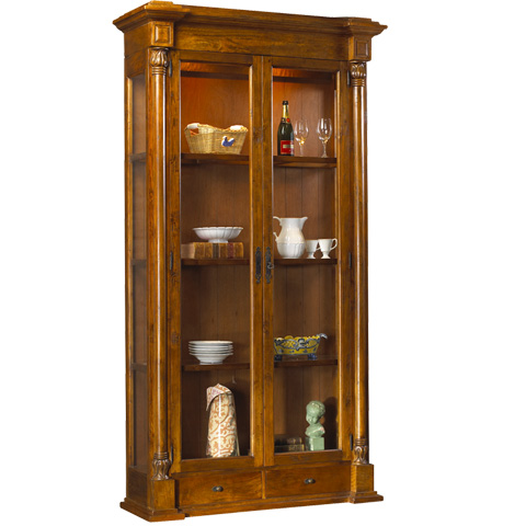 French Heritage - Vignoble Display Cabinet - M-2522-1102-CBRM