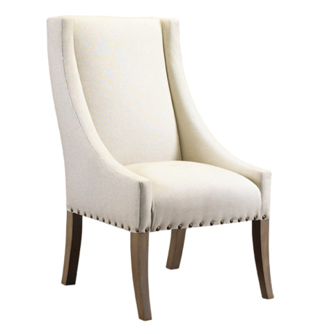 French Heritage - Host and Hostess Occasional Chair - M-2528-1105-LIN