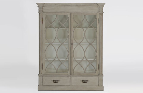 Gabby Home - Grace Farmhouse Style China Cabinet - SCH-270325