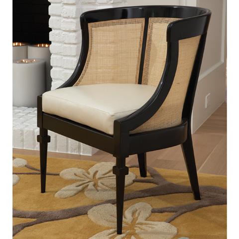 Global Views - Black Cane Chair - 2.70002