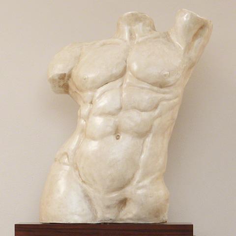 Global Views - Heroic Torso Sculpture - 3.30789