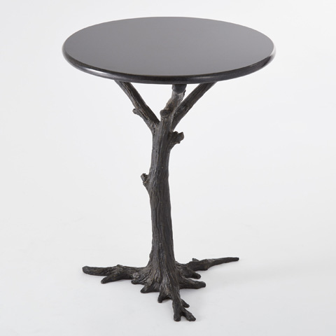Global Views - Faux Bois Side Table - 8.80497