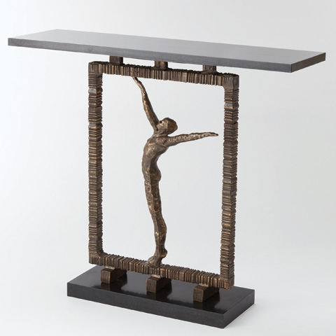 Global Views - Reach Out Of The Box Console Table - 8.80584