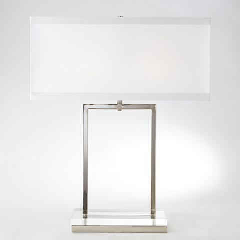 Global Views - Crystal Slab Lamp - 8.81563