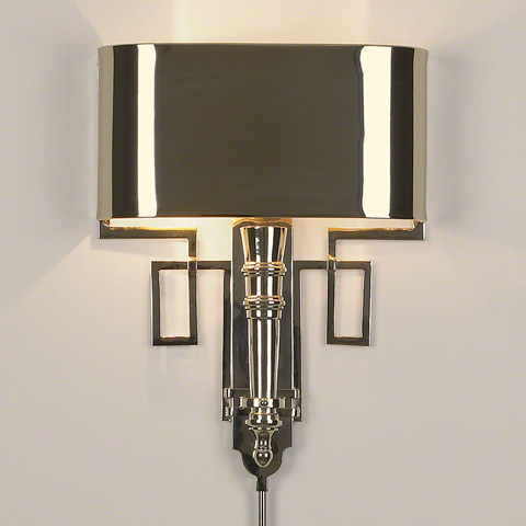 Global Views - Hardwired Nickel Torch Sconce - 9.90650-HW