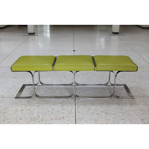 Global Views - Citron Airline Bench - 9.91556