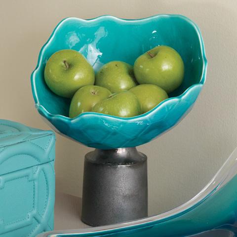 Global Views - Diamante Pedestal Bowl - 1.10193