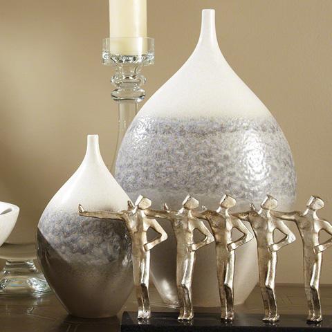 Global Views - Cream Rises Vase - 1888