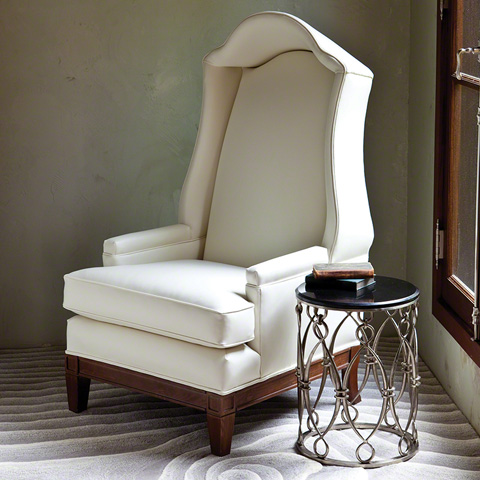 Global Views - Bonnet Chair - 2366-MUSLIN