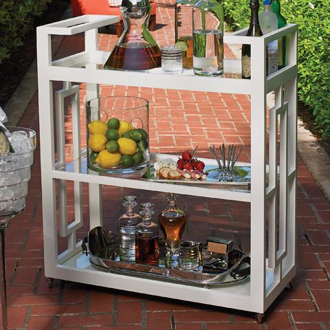 Global Views - Grid Block Bar Cart - 2478