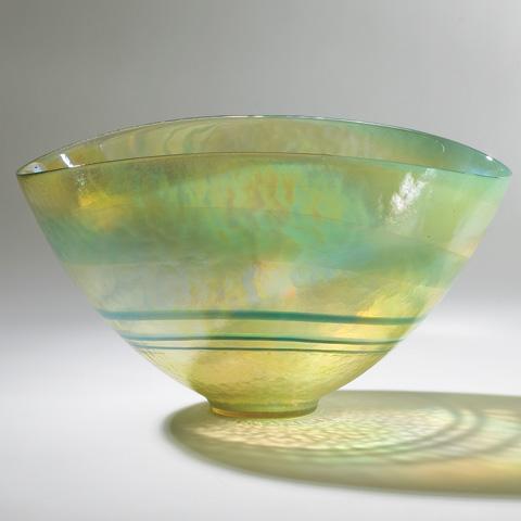 Global Views - Golden Oval Bowl - 3.30716