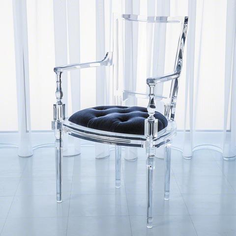 Global Views - Marilyn Acrylic Arm Chair - 3.31164