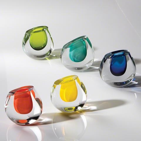 Global Views - Color Drop Vase - 6.60184
