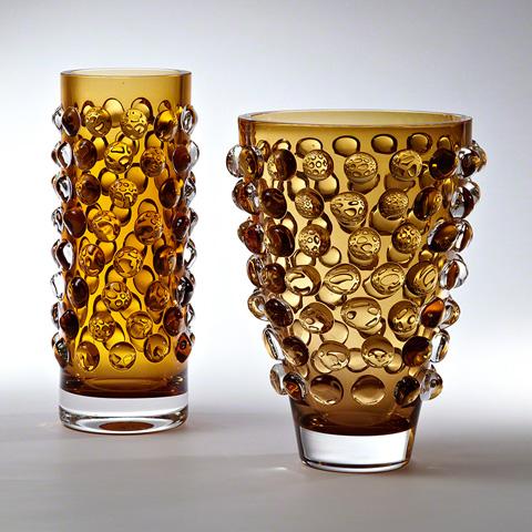 Global Views - Bubble Cylinder Vase - 6.60265