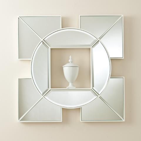 Global Views - Arabesque Shadow Box Mirror - 8.81571