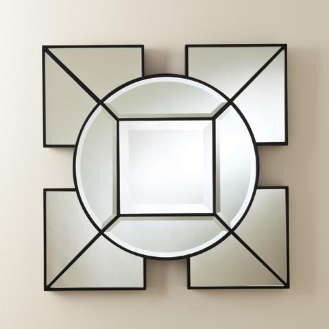 Global Views - Arabesque Square Mirror - 8.81572