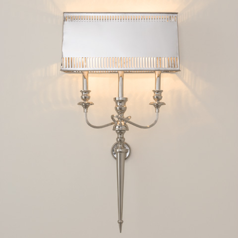 Global Views - French Sconce Electrified - 9.90121-HW