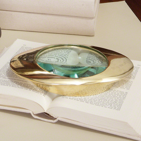 Global Views - Oval Magnifying Glass - 9.91925
