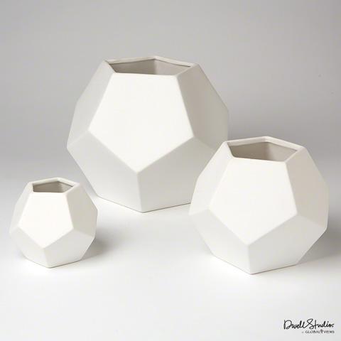 Global Views - Faceted Vase - D8.80044