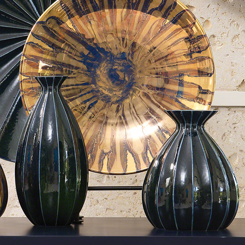 Global Views - Fluted Cinched Vase - 1.10280